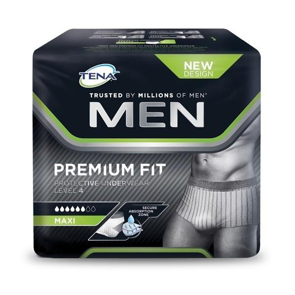 TENA MEN Level 4 Premium Fit Protective Underwear Gr. L, 4 x 10 Stk.