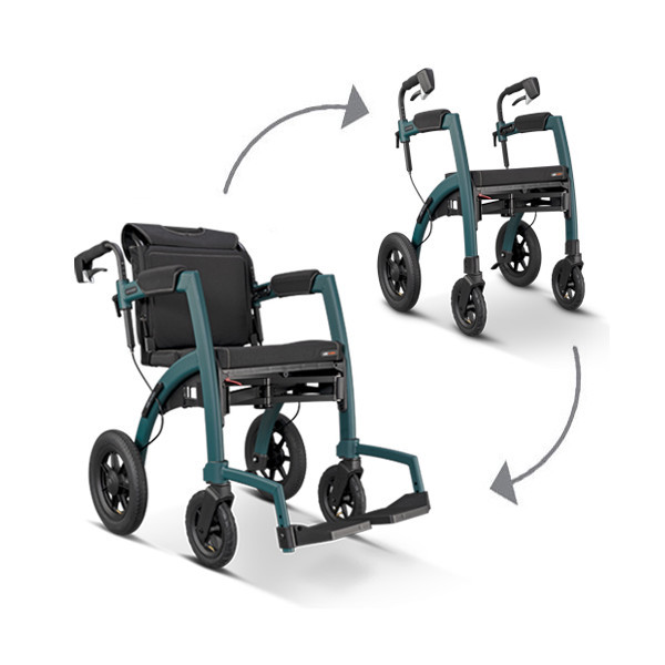 Rollz Motion² Performance - Rollator und Rollstuhl