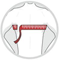 Brustumfang_unter_Achseln_messen
