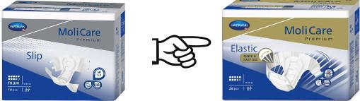 MoliCare Premium Slip Maxi Large, 4 x 14 Stk.