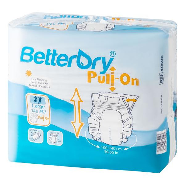 BetterDry Pull-On Large