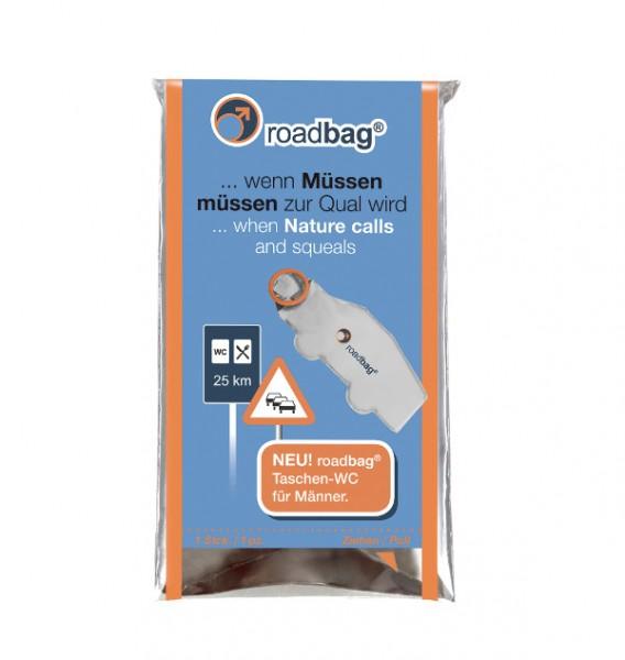 roadbag® Taschen-WC für Männer, 12 Stk.