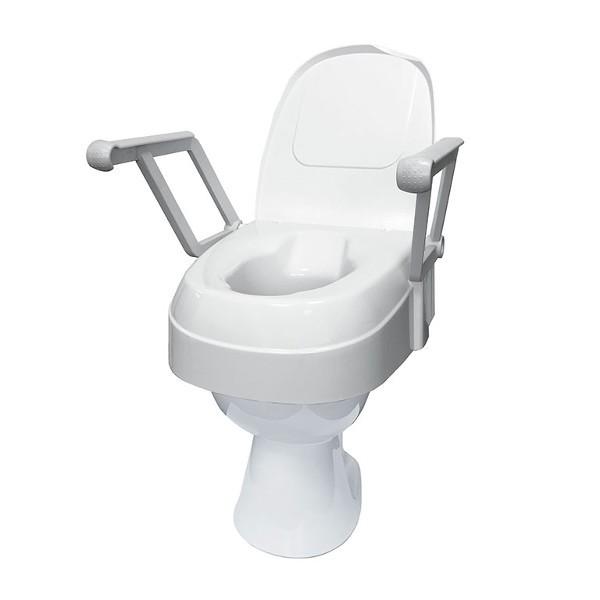 Toilettensitzerhöhung TSE 120 mit Armlehnen