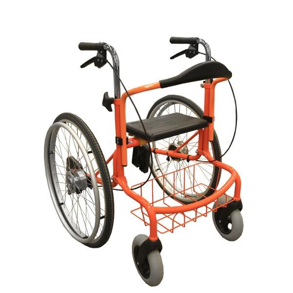 Wheellator - Rollator und Rollstuhl